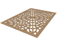 Islamic Wood Pattern Design