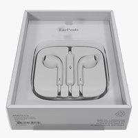Apple EarPods with Remote and Mic Folded