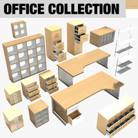 3d modern contemporary office furniture