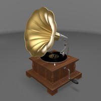 gramophone player 3d 3ds