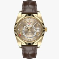 rolex sky-dweller yellow gold obj
