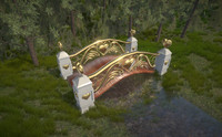 3ds max cupid s bridge