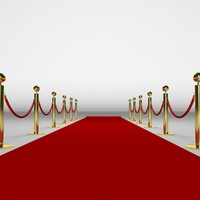 red carpet 3d model