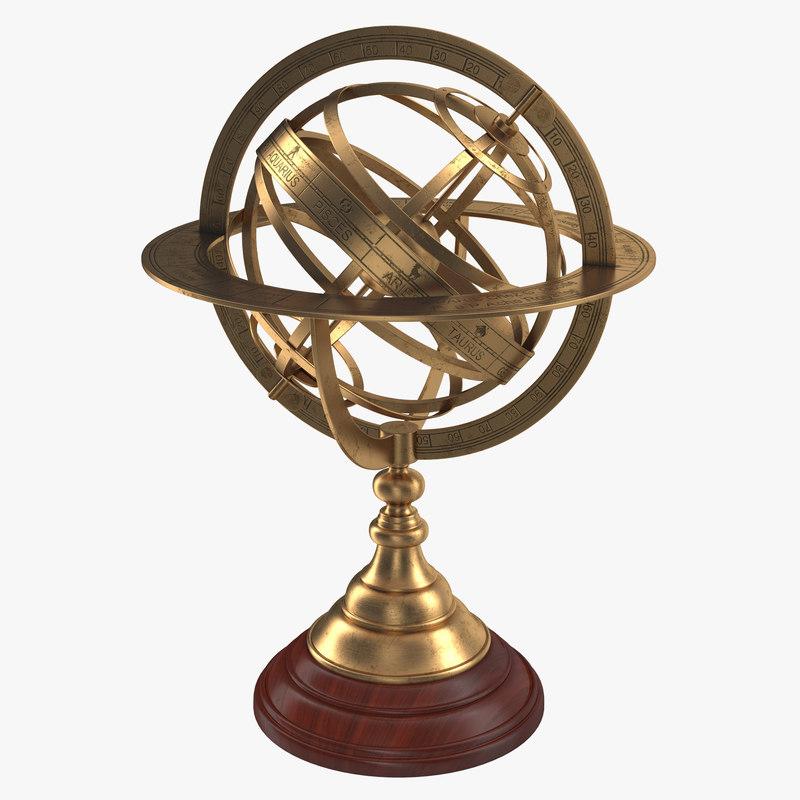 Antique Globe 3d model 00.jpg