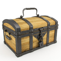 3ds max chest wood