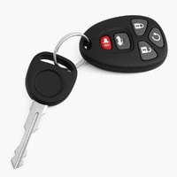 3ds max car key
