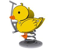 3d duck spring model