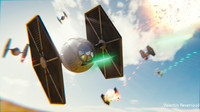 3d blender space tie fighter