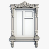 3d max window frame