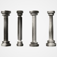 column pillar classical 3ds