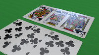 playing cards c4d