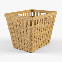 max wicker basket ikea knarra
