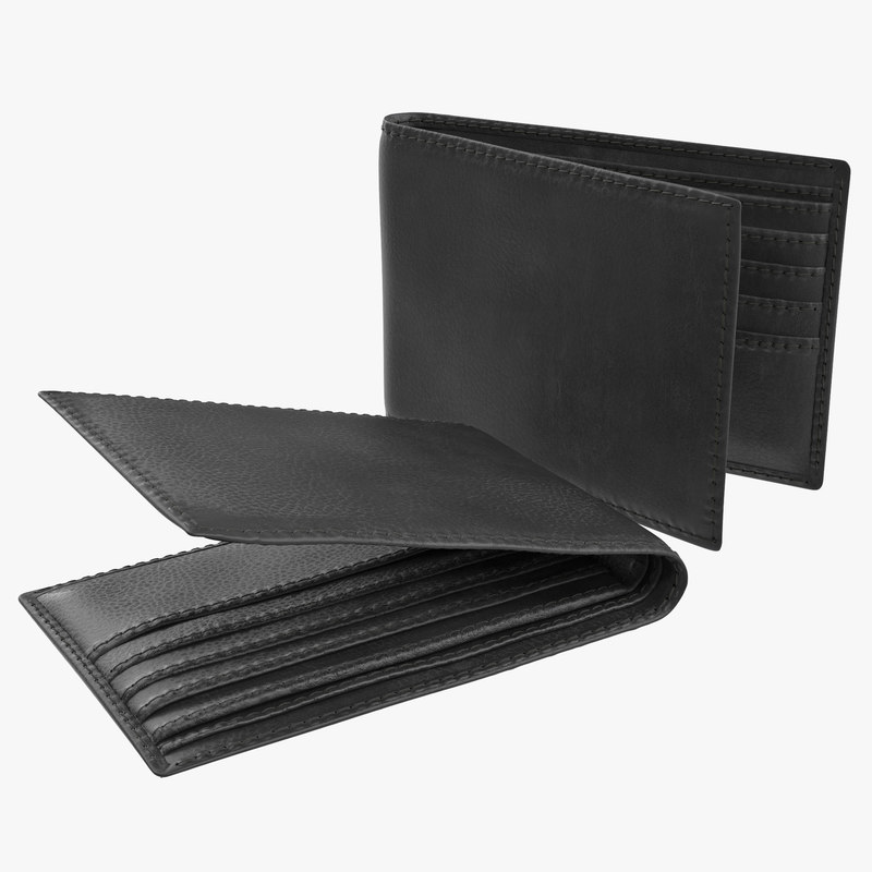 Leather Wallet 3d model 00.jpg