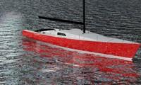 dwg sailing yacht