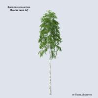 3d max birch tree