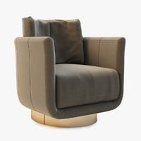 Fendi Casa Artu Small Armchair
