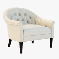 adele barrel chair 3d 3ds