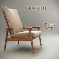 3d model of giorgetti denny 57701