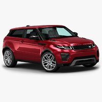 2016 range rover evoque d model