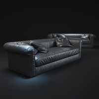 alfred-soft-sofa 3d model