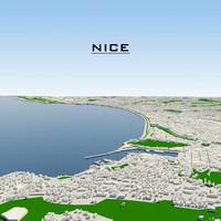 3d nice cityscape