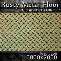 Rusty Metal Floor Texture