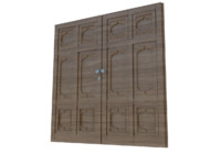 Ottoman Style Islamic Mosque Wood Door