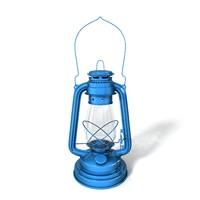 3d storm lantern model
