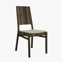 solid chair 3d model