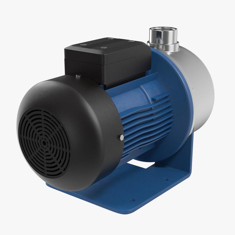 Water Pump 3d model 00.jpg