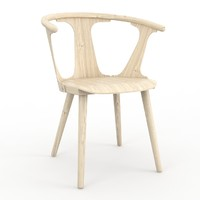 3d model tradition chair