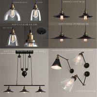 lights loft lamps 3d model