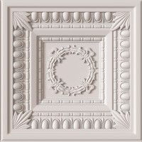 decorative ceiling tile 3d max
