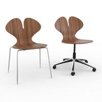 concept c klober chair 3d model