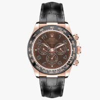 Rolex Daytona Chocolate Dial Leather Strap