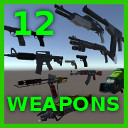 3d 12 weapons pack