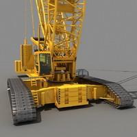 maya crawler crane