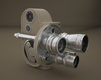 3d model camera bell howell