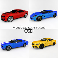 2015 Muscle Car Collection/Pack