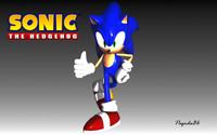 3d model sonic rigging