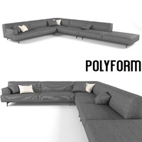 3d model sofa realistic super