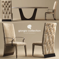 3d model chair giorgio lifetime