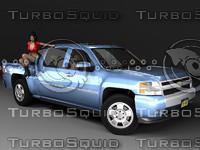 Chevrolet Silverado CrewCab (GMT900)