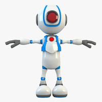 3ds max robot modelled