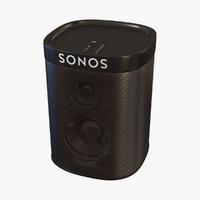 sonos play1 3d model