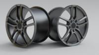 3d model car rim sport