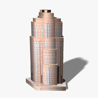 ready skyscraper building 3d 3ds
