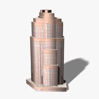 ready skyscraper building 3d 3ds