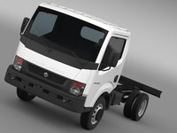 3d ashok leyland partner chassi model
