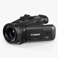 3d model canon vixia hf g30